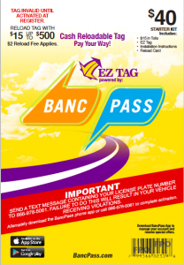 New EZ Tag Package
