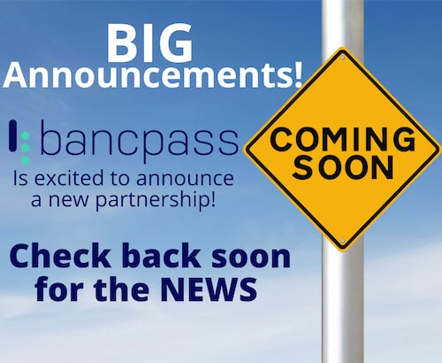 BancPass Cash Reloadable Toll Sticker